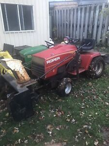 18Hp Roper tractor with snowblower