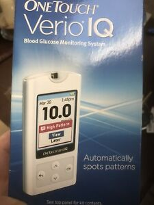 One touch Verio IQ blood glucose checker