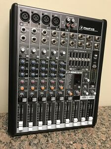 Mackie ProFX8 8 channel Pro Mixer with effects and USB