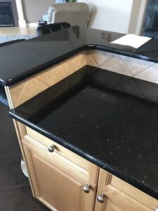 Wanted granite polish refinisher to fix up my countertops