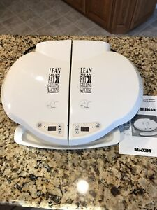 George foreman double sided grill