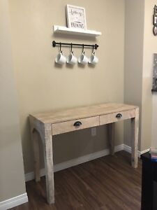 Rustic India Hall Table