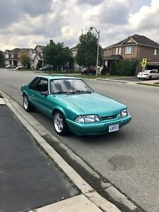 1992 Ford Mustang LX Calypso Green foxbody