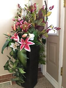 Artificial Stargazer Lily Flower Arrangement