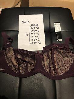 Panache lingeries, all brand new