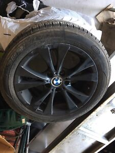 BMW 5 series Rims with tires
