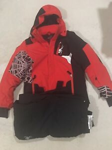 Spyder boys ski  jacket and pants size14