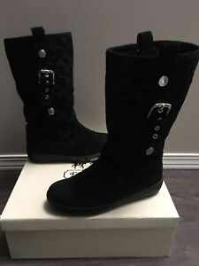 Women's Coach Real Suede Boots