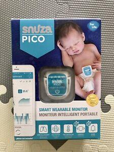 Like New Snuza Pico Smart Wearable Baby Monitor