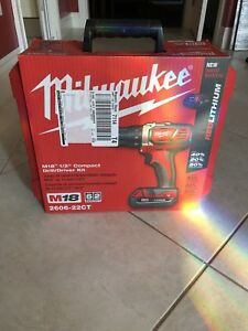 "Milwaukee M18 1/2"" Drill Driver Kit - Brand New"