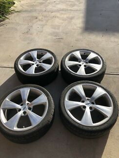 """19"""" Ford FPV Silver Argent Wheels x4"""