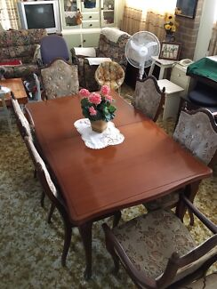 Dining Table Extendable And Chairs