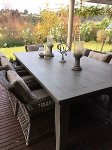 Outdoor table and 8 chairs Mount Barker Mount Barker Area Preview