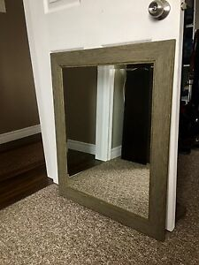 Rustic looking mirror
