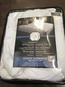 Stearns & Foster® Amherst Waterproof Mattress Pad Queen Size