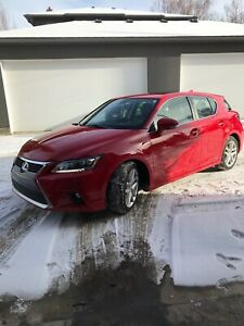 Red CT Lexus For Sale