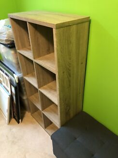 Small cube bookshelf for sale