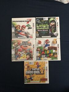*** 3ds games - PERFECT CONDITION with manuals ***