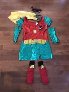 Robin Woman's Costume Size Large