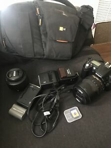 Nikon D90 - Body with 2 lenses and many accessories