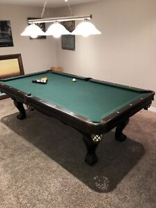 Canada billiard pool table