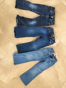 3 pairs of kids jeans