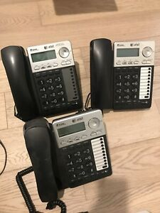 Set of AT&T Office Phones