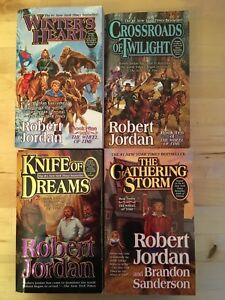 Robert Jordan Série Wheel of Time Series Times 9-12