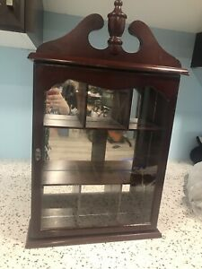 Solid antique cabinet