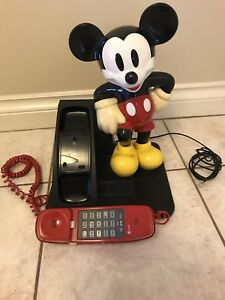 Collectors AT&T Mickey Mouse telephone