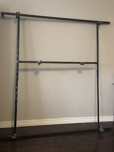 Metal bed frame - adjustable to any size!