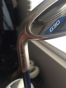 Left handed G30 irons.