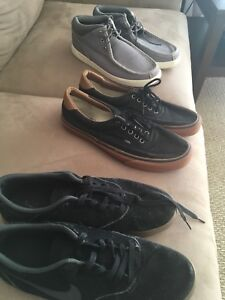 Men's shoes. Nike Timberland and Vans