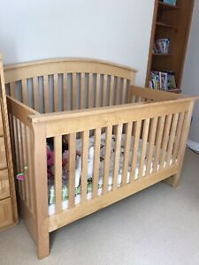 Canadian made solid pine crib