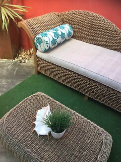 Cane Daybed fullsize excell cond Rochedale delivery Avail