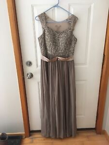 Formal prom / bridesmaids dress, size 10