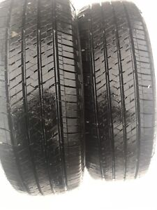 4 P195/65R15 Bridgestone all season tires