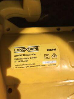 Landxcape electric leaf blower/vacuum/mulcher
