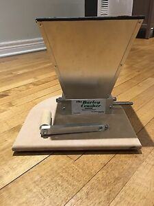 Barley Crusher homebrew grain mill