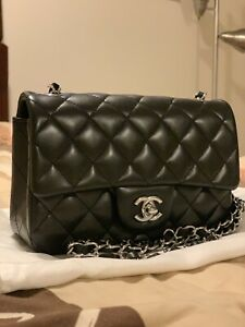 b55d6731c6c2 Chanel Mini Rectangular with Silver Tone Hardware
