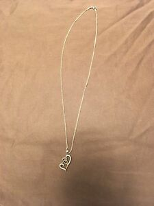 Charm diamond necklace