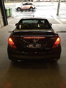 Peugeot 207cc convertible on sale. Elwood Port Phillip Preview