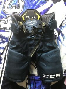 CCM Ultra Tacks hockey pants junior M, navy