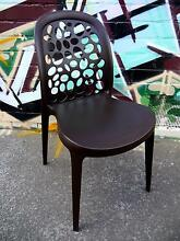 New Brown Grace Dining Chairs Cafe Restaurant Outdoor Furniture Melbourne CBD Melbourne City Preview