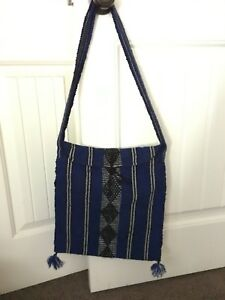 Mexican style material purse