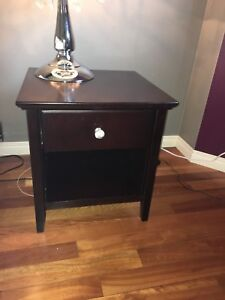 Night stand and desk