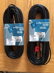 Speaker cable banana to 1/4 inch