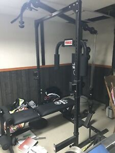 York universal gym with bench 175 firm