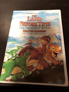 The Land Before Time DVD