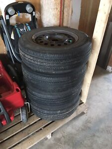 """16"""" Rims and Tires - Sold PPU"""
